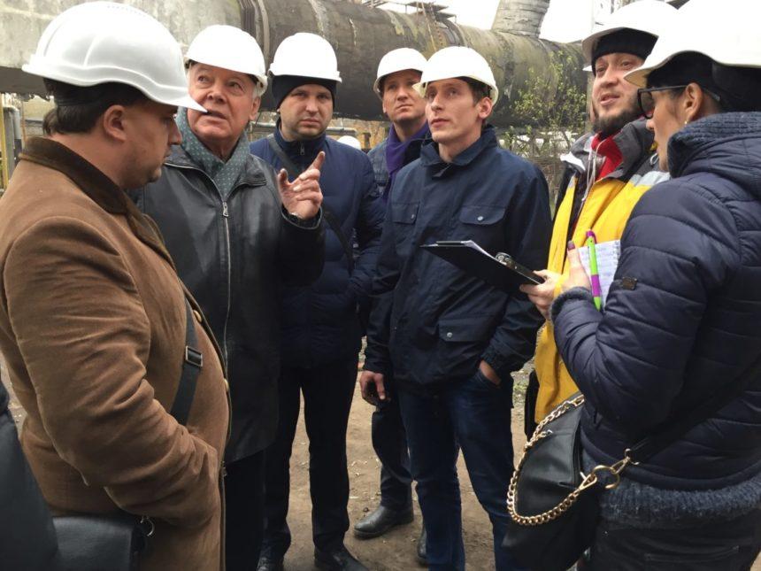 На ТОВ «Євро-Реконструкція» приймали студентів аудиторів