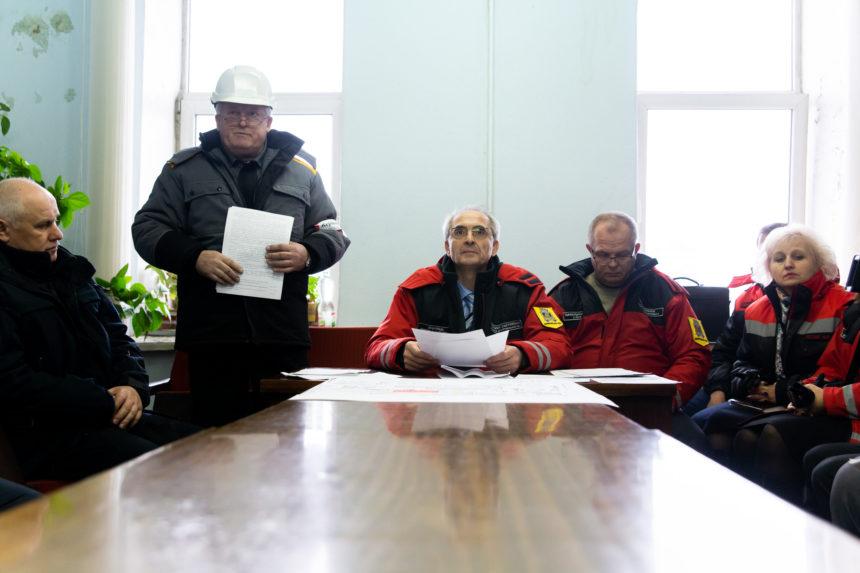 Аварійно-рятувальні служби міста відпрацювали дії захисту населення і територій при виникненні надзвичайної ситуації, пов'язаної з аварією на газовому трубопроводі на території ТОВ «Євро-реконструкція»!