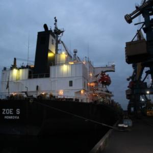 """Чергова партія вугілля з ПАР для ТОВ """"Євро-Реконструкція"""" вже розвантажується в Одеському порту!"""