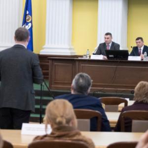 ТОВ «ЄВРО-РЕКОНСТРУКЦІЯ» прийняло участь у розширеному засіданні колегії КМДА!