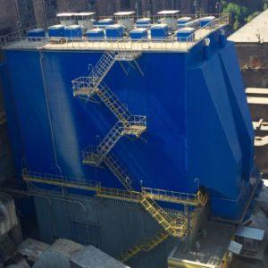 """На ТОВ """"ЄВРО-РЕКОНСТРУКЦІЯ"""" триває реконструкція газоочисного обладнання!"""
