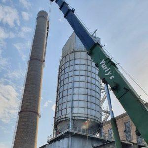 На ТОВ «ЄВРО-РЕКОНСТРУКЦІЯ» тривають роботи з реалізації програми комплексної реконструкції газоочисного обладнання теплоелектроцентралі