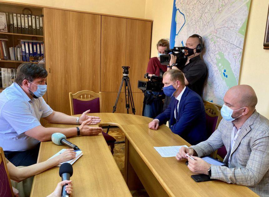 На ТОВ «ЄВРО-РЕКОНСТРУКЦІЯ» пройшла зустріч з головою Державної екологічної інспекції України