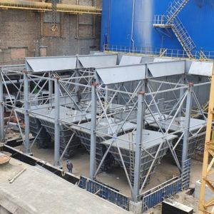 На ТОВ «ЄВРО-РЕКОНСТРУКЦІЯ» триває реконструкція газоочисного обладнання: сучасний електрофільтр для котла ст. №7 (Фотозвіт)