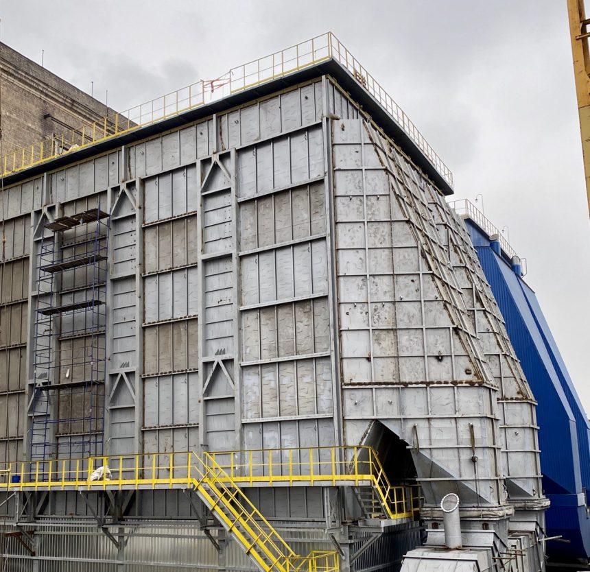 Екологічна реконструкція триває: звітуємо про завершенння будівництва вже другого сучасного електрофільтру