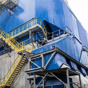 """На ТОВ """"Євро-Реконструкція"""" розпочато підготовчі роботи з будівництва III-го сучасного електрофільтру на котлі ст.№8"""