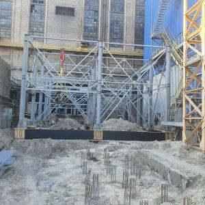 На ТОВ «ЄВРО-РЕКОНСТРУКЦІЯ» продовжується екологічна модернізація. Триває будівництво 3-го електрофільтру для котла ст. №8