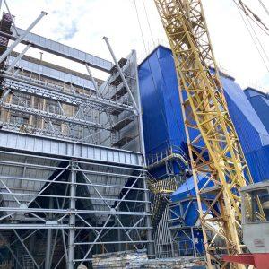 Відповідь на запит стосовно виконання заходів з проведення реконструкції та модернізації газоочисних установок ТОВ «Євро-Реконструкція» – будівництво електрофільтрів